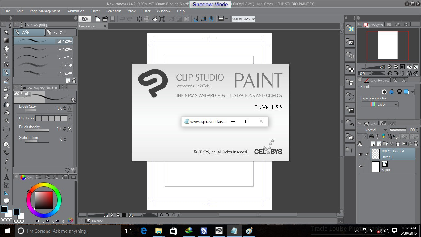 Clip studio paint 1 7 3 crack keygen full version download for Program like paint for mac