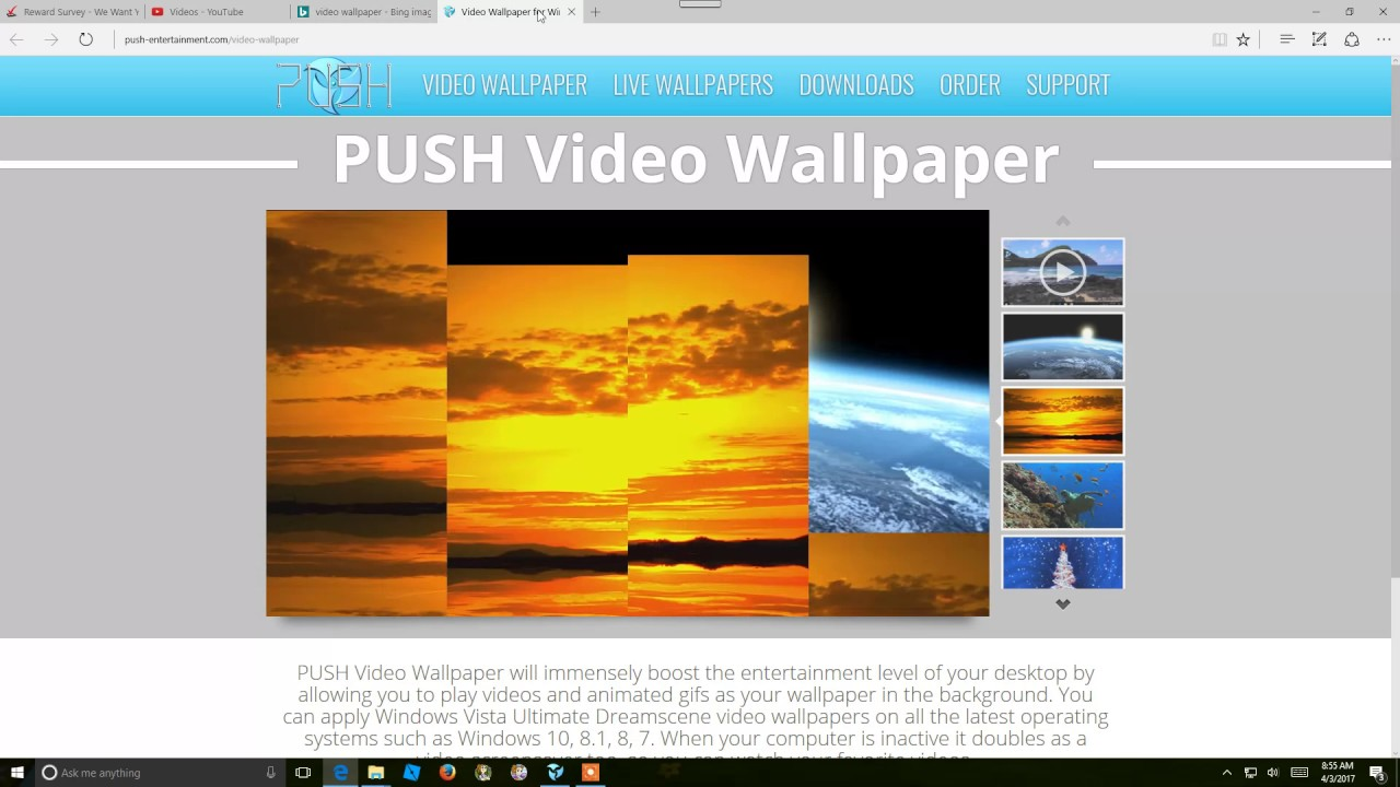 PUSH Video Wallpaper 4 Crack Archives